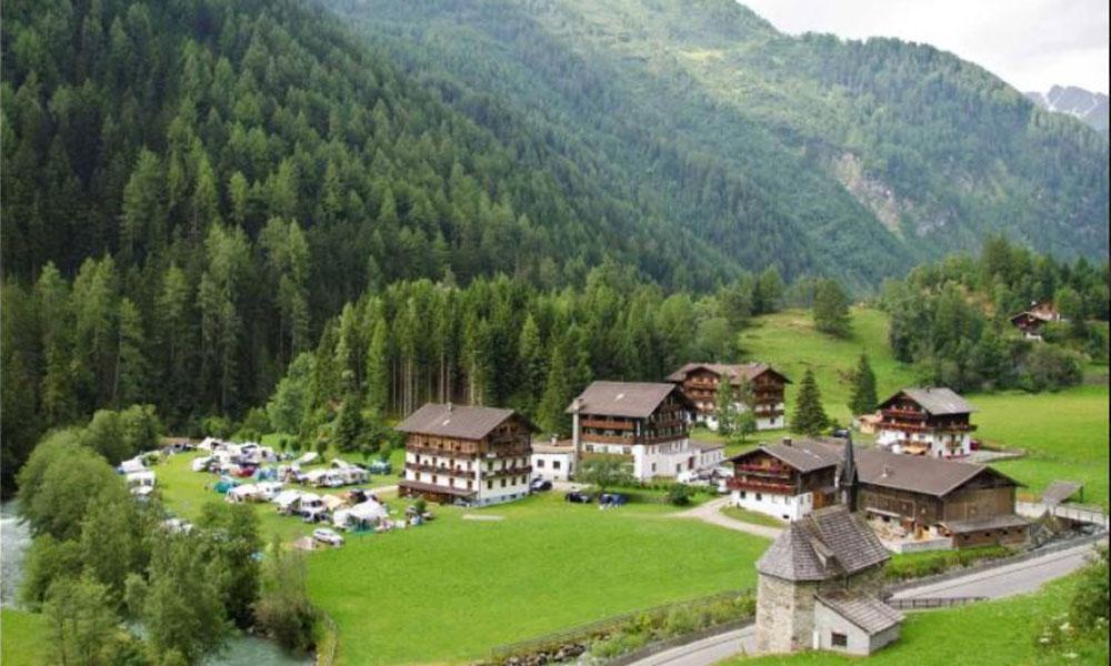 Gästehaus & Camping Bergkristall