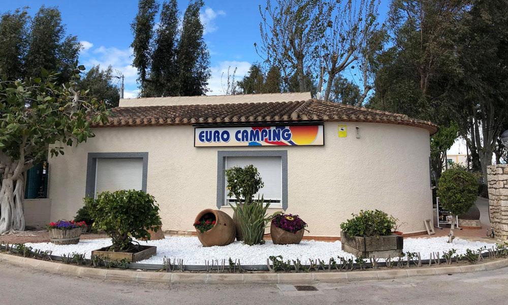 Eurocamping - Playa de Oliva
