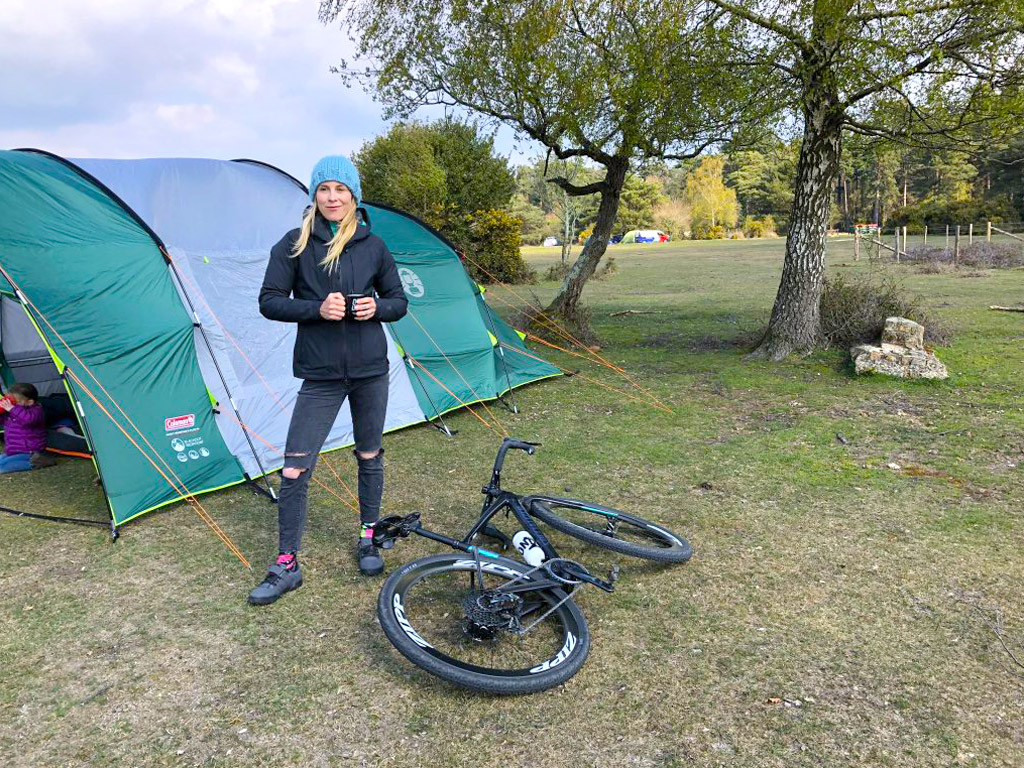Cycling and Camping in New Forest
