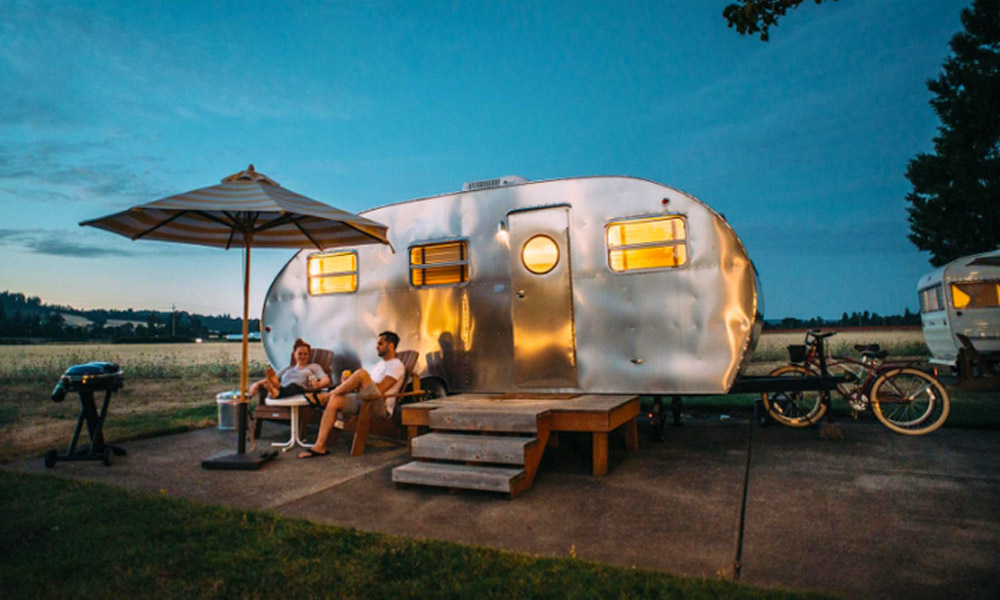 Permanent vacation home-lowcost glamping