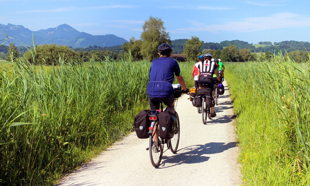 Cycle touring in Spain